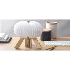 Gingko The R Space Lamp, Maple