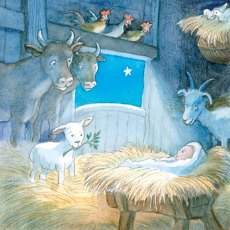 The Foundling Lamb at The First Christmas Cards