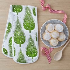 Thornback & Peel Christmas Tree Double Oven Gloves
