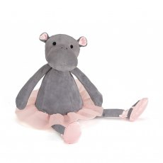 Jellycat Dancing Darcey Hippo Medium