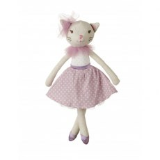 Small White Cat Doll