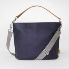 Caroline Gardner Finsbury Cross Body & Shoulder Bag Navy