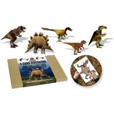 Flights of Fancy Card Dinosaurs. Three Dimensional Card Dinosaurs