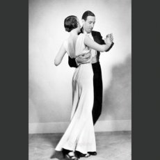 Dancing the Tango, 1932 Greeting Card