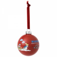Peter Rabbit Merry Christmas Bauble