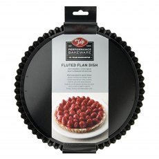 Tala Performance Non-Stick 25cm Fluted Flan & Tart Dish