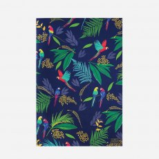 Sara Miller London Parrot Repeat Tea Towel