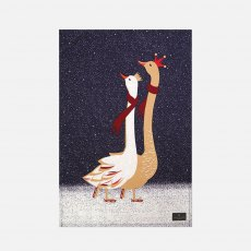 Sara Miller London Skating Geese Tea Towel