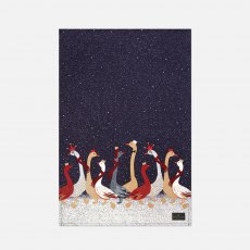 Sara Miller London Skating Geese Repeat Tea Towel
