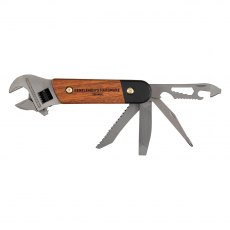 Gentleman's Hardware Wrench Multi Tool Wood & Titanium Finish
