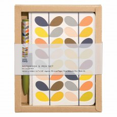 Orla Kiely Multi Stem Pocket Notebook & Pet Set