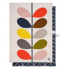 Orla Kiely Multi Stem & Slate Tea Towels