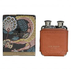 Ted Baker Brogue Kiku Double Hip Flask
