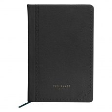 Ted Baker Black Brogue Monkian A5 Notebook