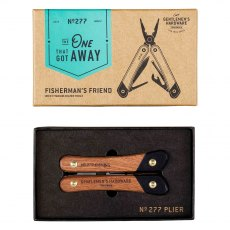 Gentleman's Hardware Fishing Multi Tool, Wood & Titanium Finish