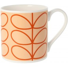 Orla Kiely Quite Big Linear Stem Tomato Mug