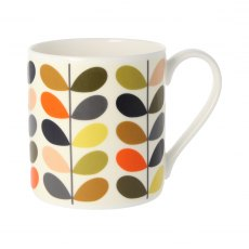 Orla Kiely New Multi Colour Ten Stem Quite Big Mug
