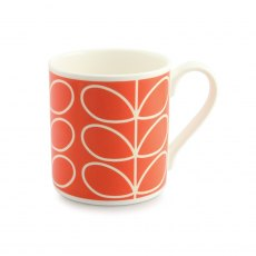 Orla Kiely Poppy Linear Quite Big Mug