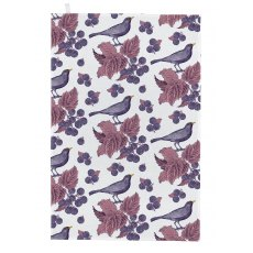 Thornback & Peel Classic Blackbird & Bramble Tea Towel