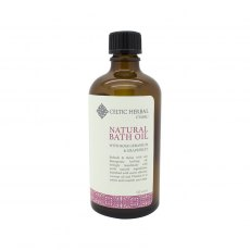 Natural Bath Oil with Geranium and Grapefruit 100ml