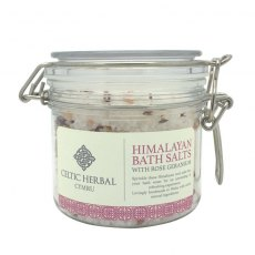 Himalayan Bath Salts with Rose Geranium 350g