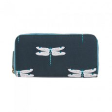 Sophie Allport Dragonfly Oilcloth Zipped Wallet Purse