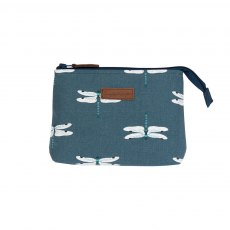 Sophie Allport Dragonfly Small Canvas Makeup Bag