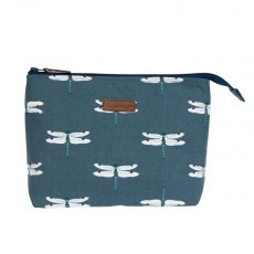 Sophie Allport Dragonfly Large Canvas Wash Bag