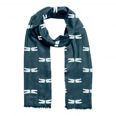 Sophie Allport Dragonfly Printed Scarf