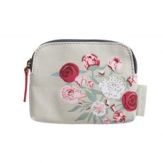Sophie Allport Peony Oilcloth Coin Purse