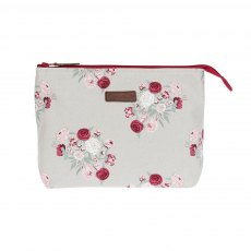Sophie Allport Peony Canvas Wash Bag