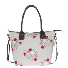 Sophie Allport Peony Mini Oilcloth Oundle Bag