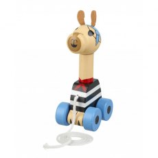 Pirate Llama Wooden Pull Along