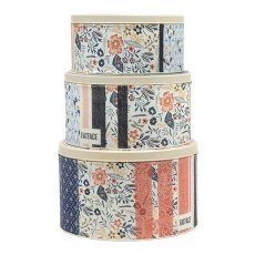 Fat Face Round Cake Tins Set of 3
