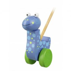 Diplodocus Wooden Push Along Boxed