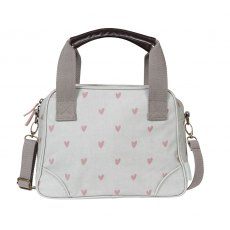 Sophie Allports Hearts Oilcloth Mini Stamford Bag