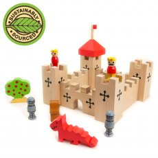 Wooden Castle In A Bag