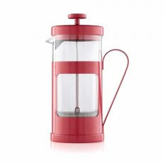 3 Cup Red Monaco Cafetiere