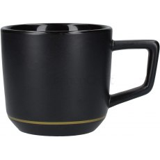 Matt Black Latte Mug
