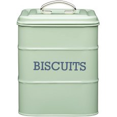 English Sage Biscuit Tin