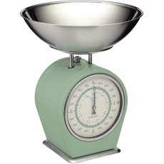 Mechanical Kitchen Scales 4kg English Sage