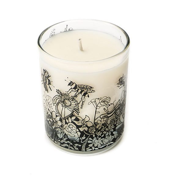 Arthouse Unlimited Bee Free Scented Organic Candle Oats and Honey