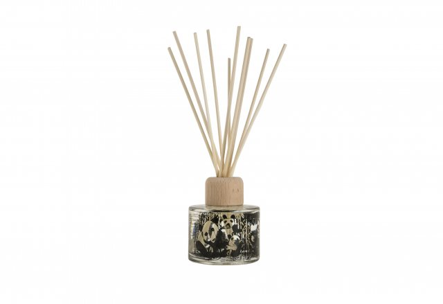 Arthouse Unlimited Panda Party Reed Diffuser Bamboo & Orange Blossom