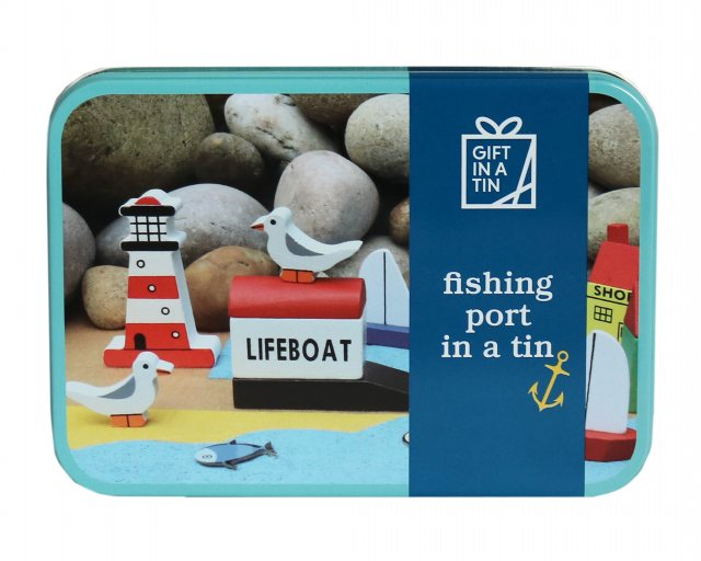 Gift in a Tin:  Fishing Port In A Tin