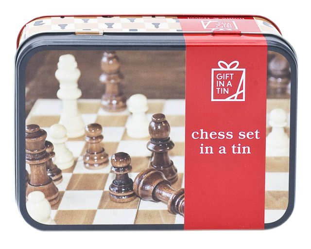 Gift in a Tin: Chess Set In A Tin