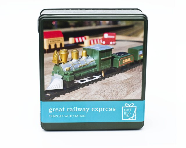 Gift in a Tin:  Great Railway Express