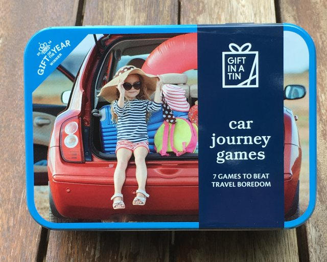 Gift in a Tin: Car Journey Games