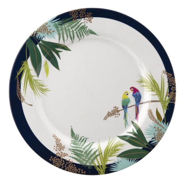 Sara Miller London Sara Miller London Portmeirion Parrot Melamine Dinner Plate