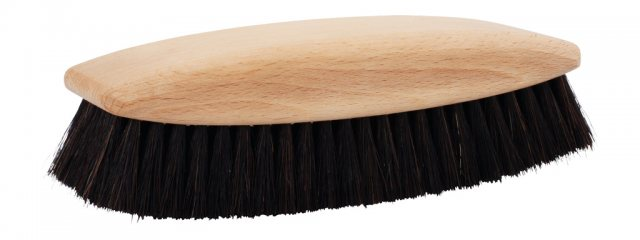 Redecker Luxury Shoe Shine Brush Black Horsehair