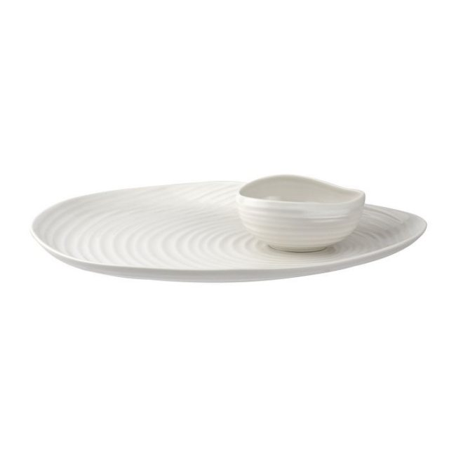 Sophie Conran for Portmeirion Sophie Conran for Portmeirion Shell Shaped Serving Platter & Bowl